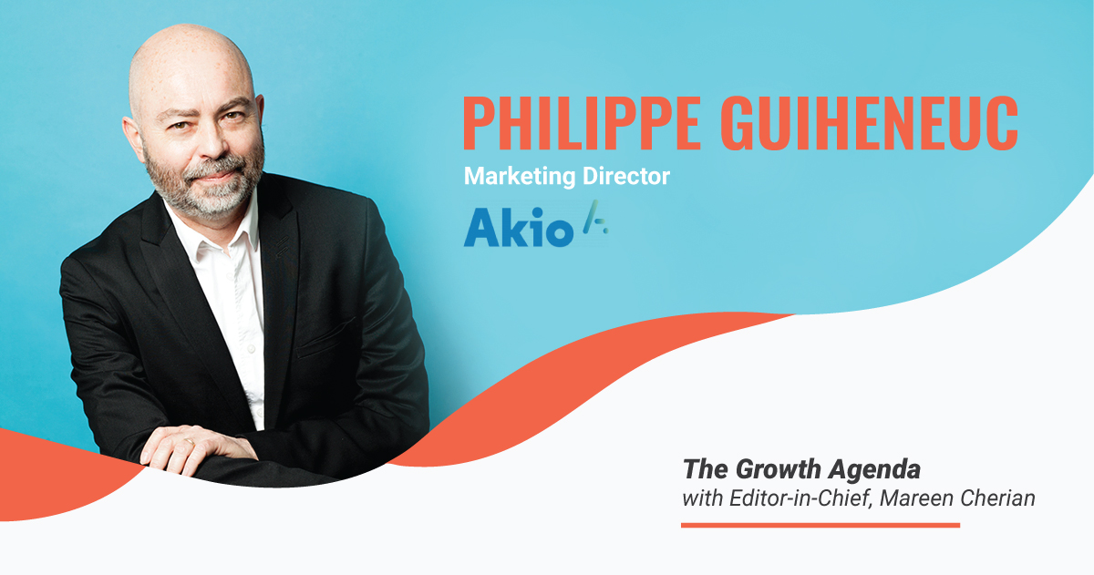 Q&A with Philippe Guiheneuc, Marketing Director at Akio