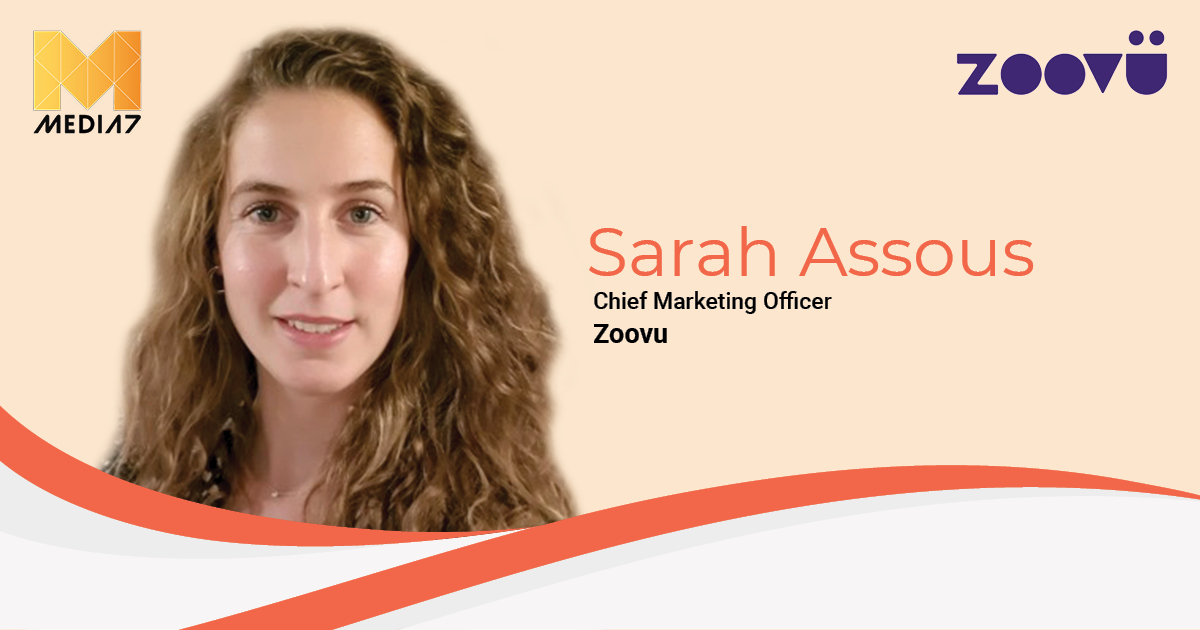 Q&A with Sarah Assous, Chief Marketing Officer at Zoovu