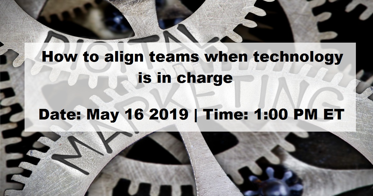 Who's Minding the Digital Store? How to align teams when technology is in charge