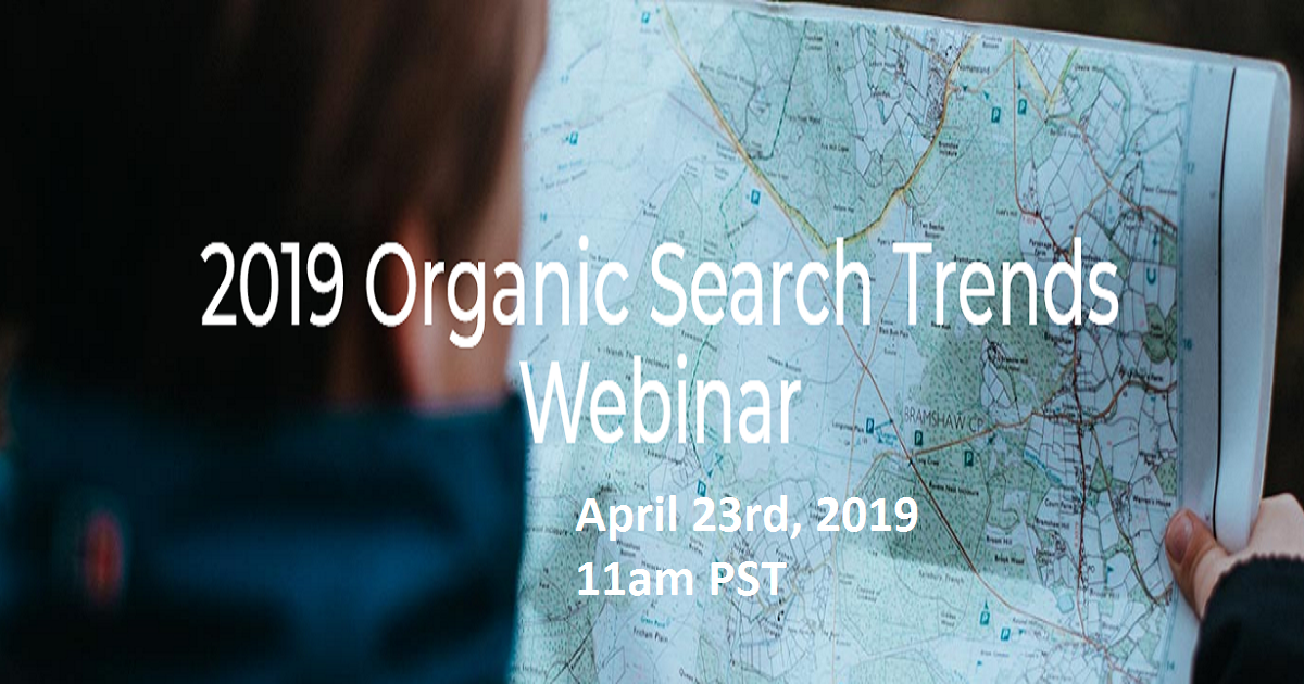 2019 Organic Search Trends