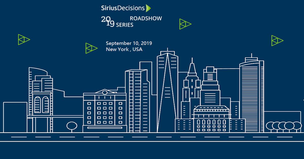 SiriusDecisions Roadshow New York