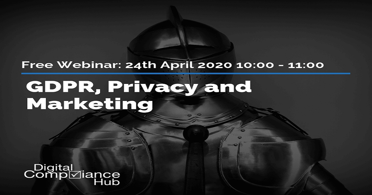 GDPR, privacy and marketing