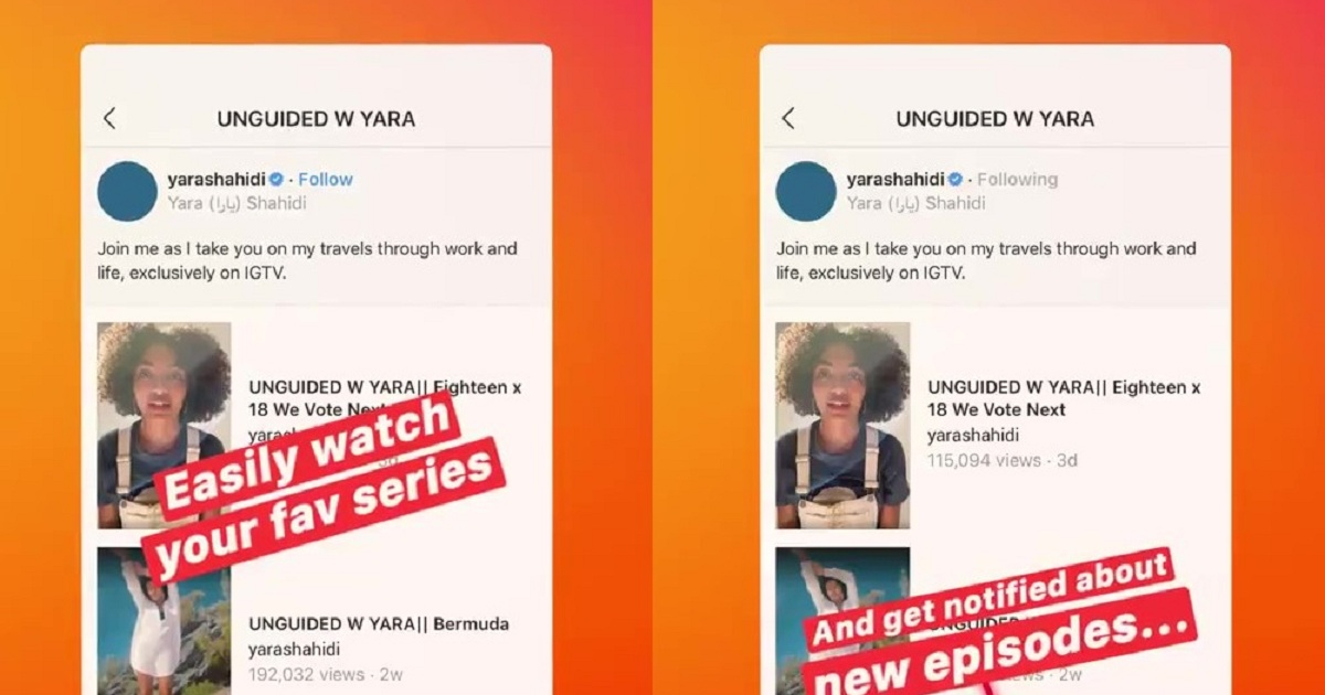 Instagram Launches a New IGTV Update, Now Categorize Your Content in Series