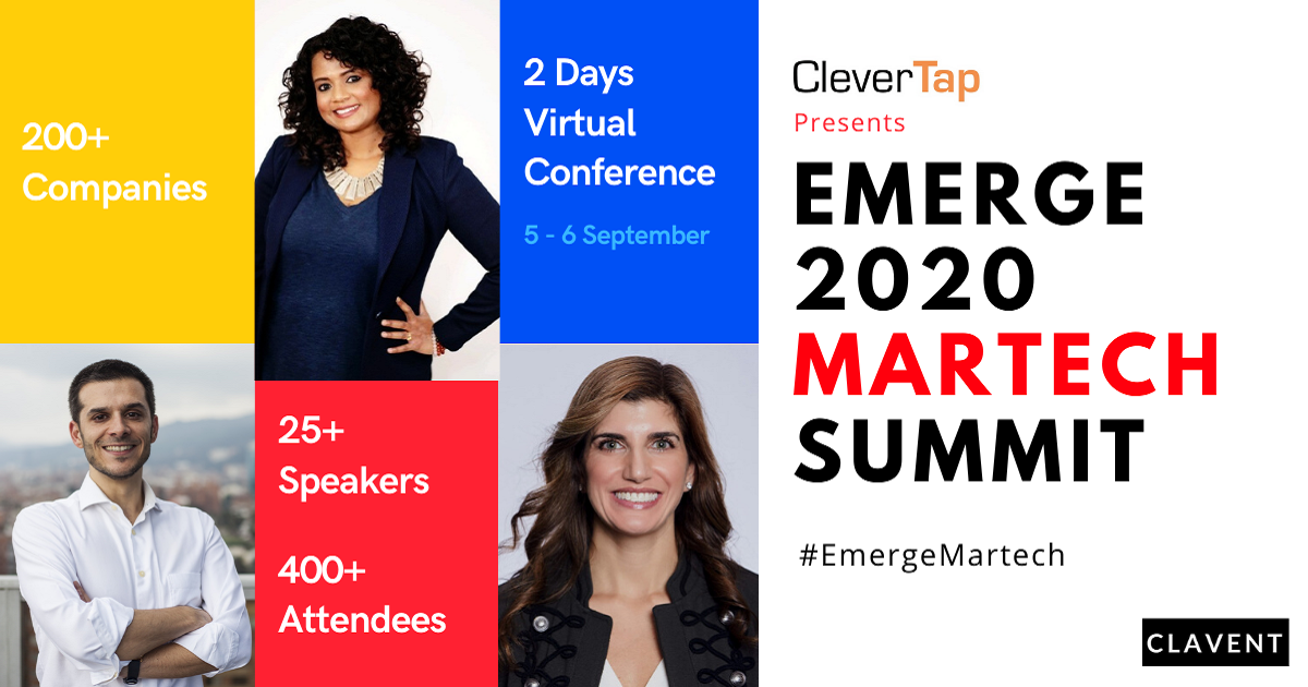 Roundup of Clavent's Emerge Martech Virtual Summit